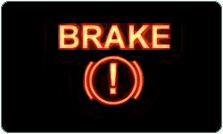 Brakes warning light