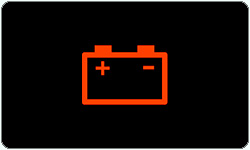 Battery warning lights