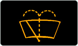 Low windshield Washer Fluid warning light